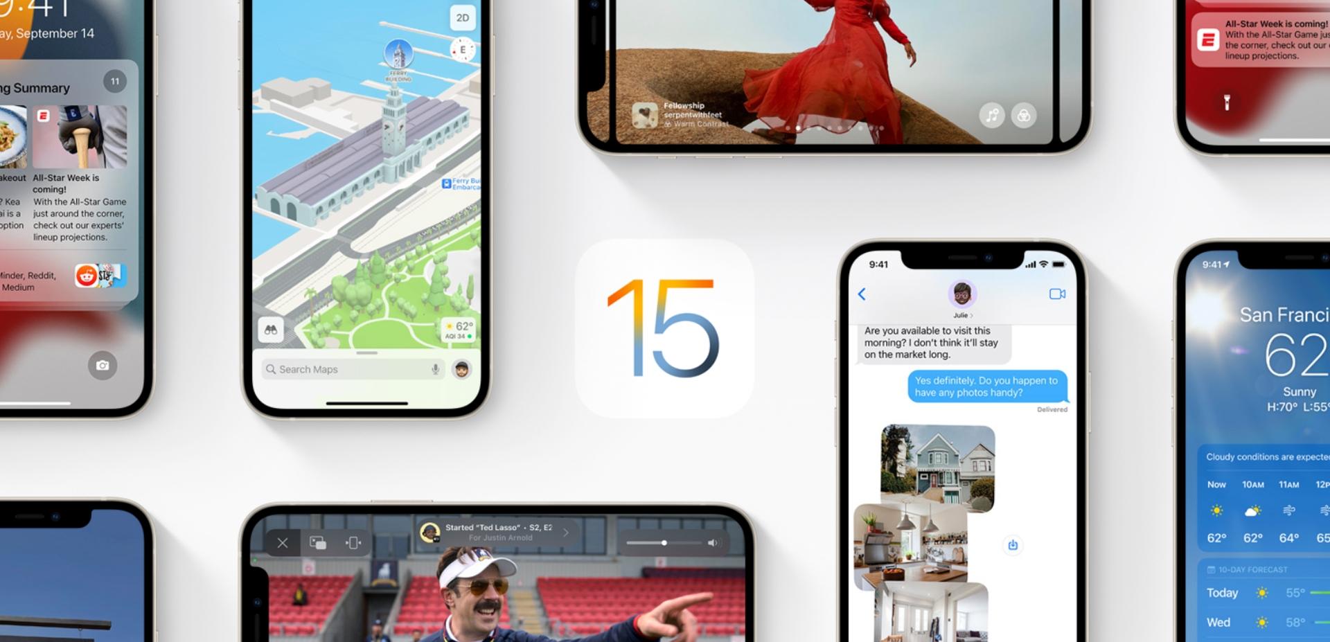 Lista funkcji w iOS 15, które nie działają na starszych iUrządzeniach
