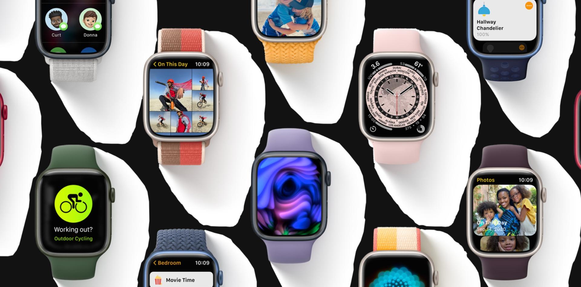 Firma Apple udostępniła oficjalnie najnowszy system watchOS 8