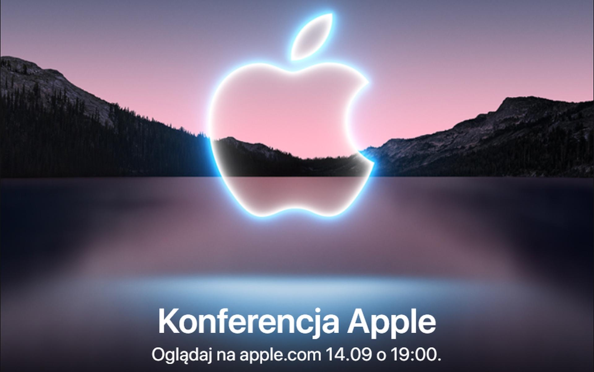 Konferencja firmy Apple ma się odbyć już 14 września