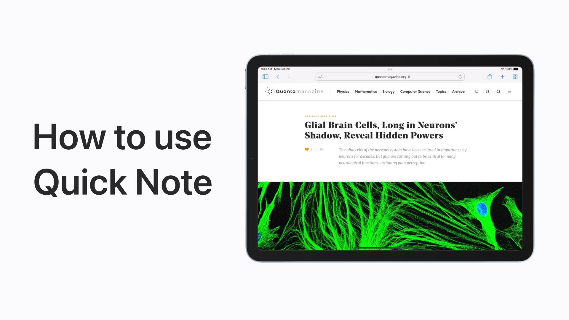Poradnik Apple: Jak korzystać z szybkich notatek na iPadzie
