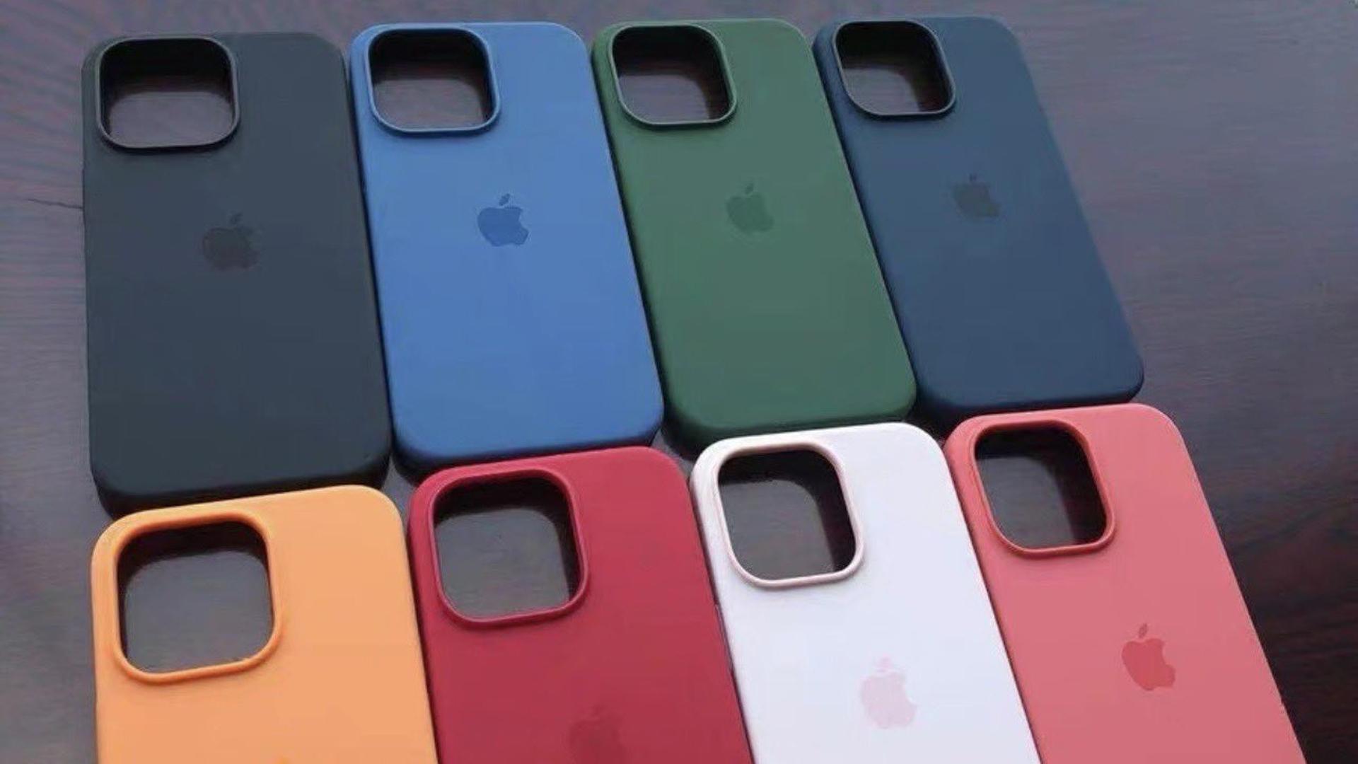 Prawdopodobne wersje kolorystyczne etui do iPhone'ów 13