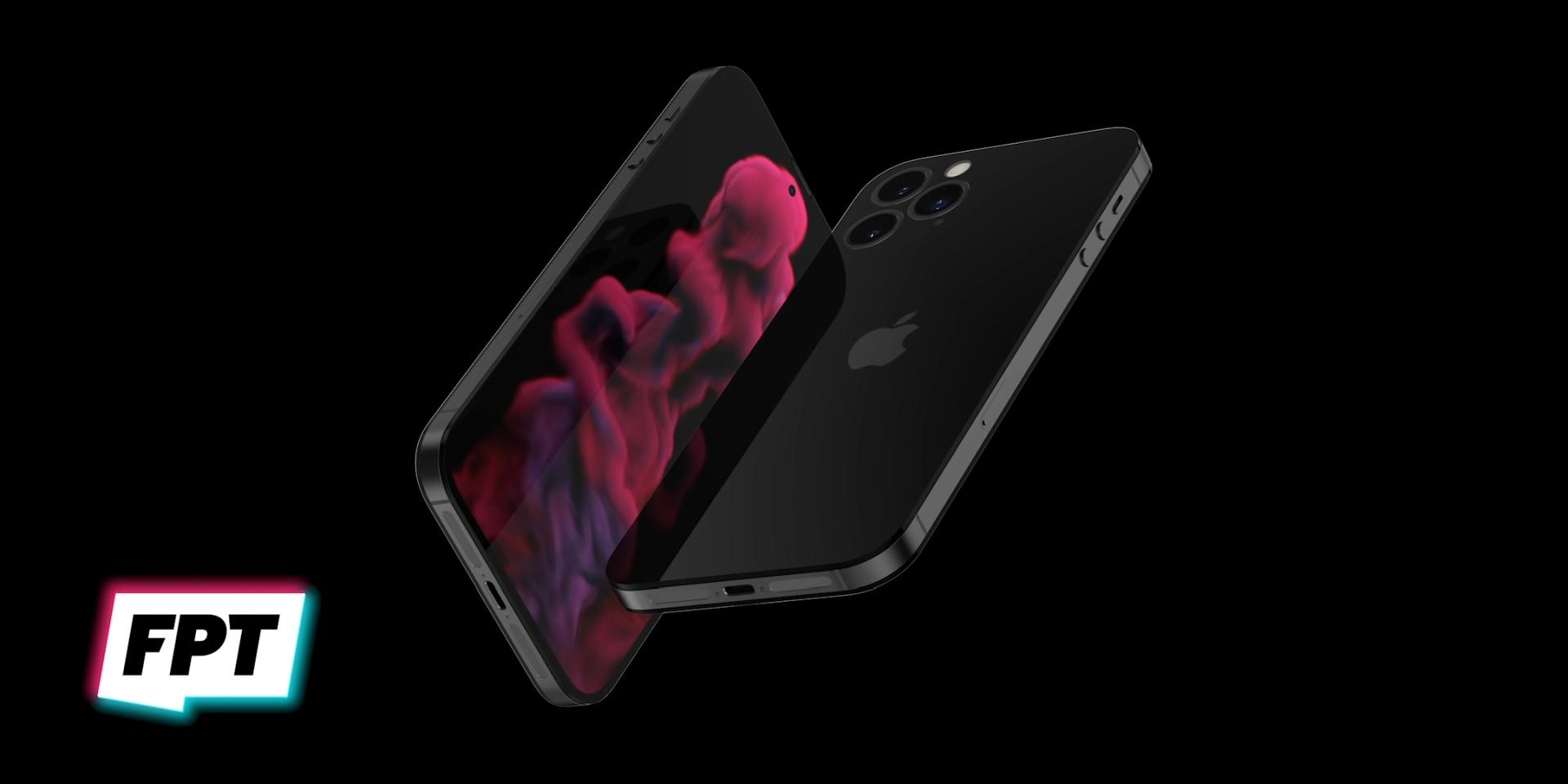 Prawdopodobny wygląd iPhone'a 14 bez notcha i nawiązujący do 4s