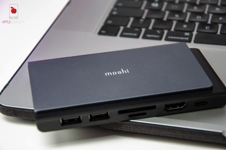 Recenzja Moshi Symbus Mini   funkcjonalny adapter USB C 7 w 1 dla Macbooka i iPada Pro