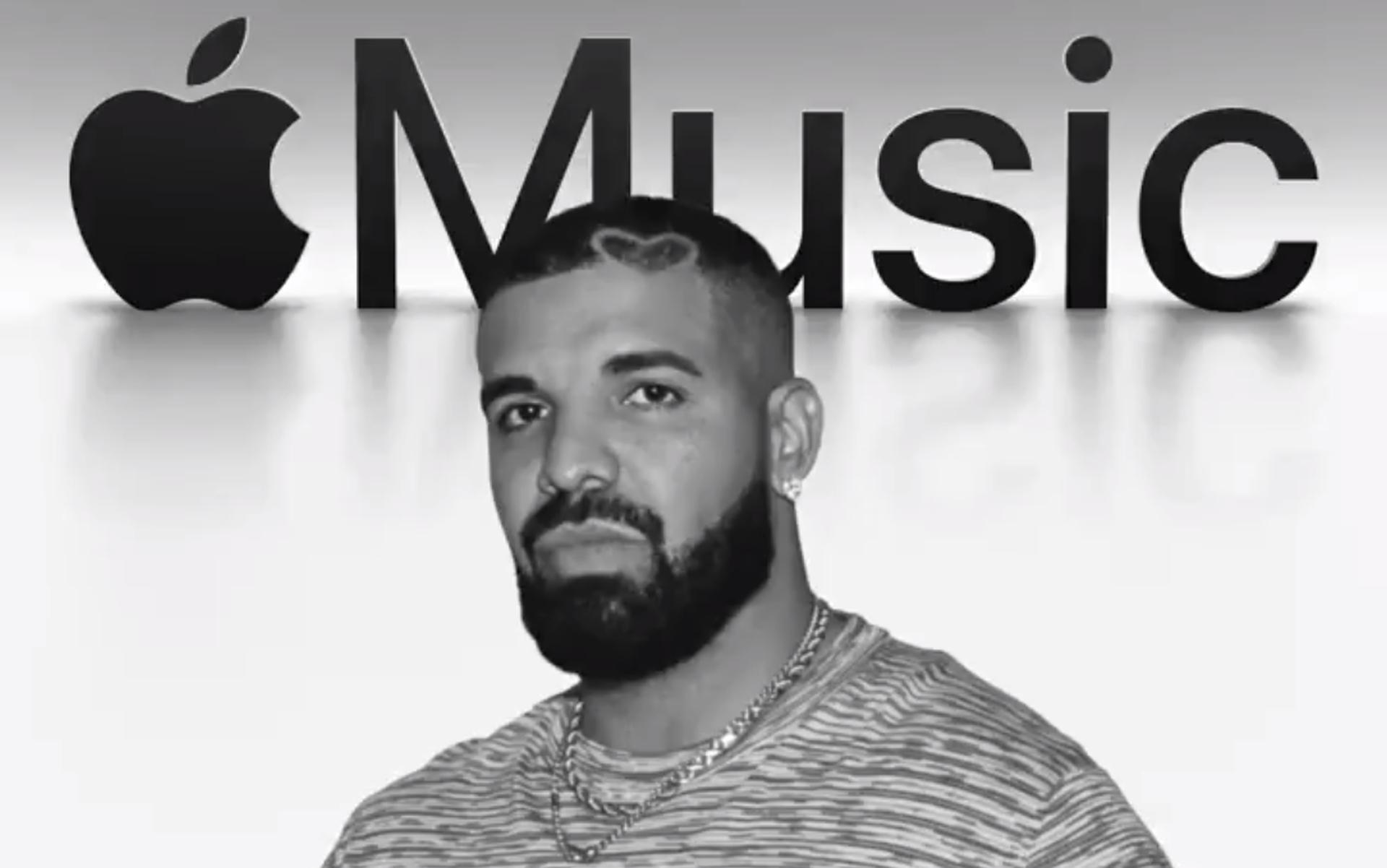 Rekordowa popularność albumu Drake'a w serwisie Apple Music