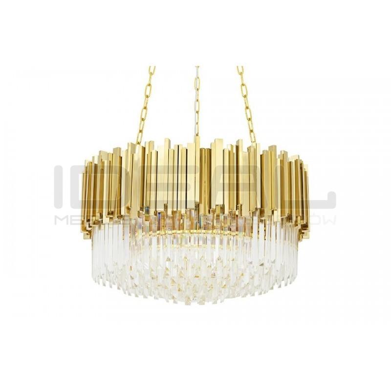 Lampa wisząca glamour ozdobi niejedno wnętrze