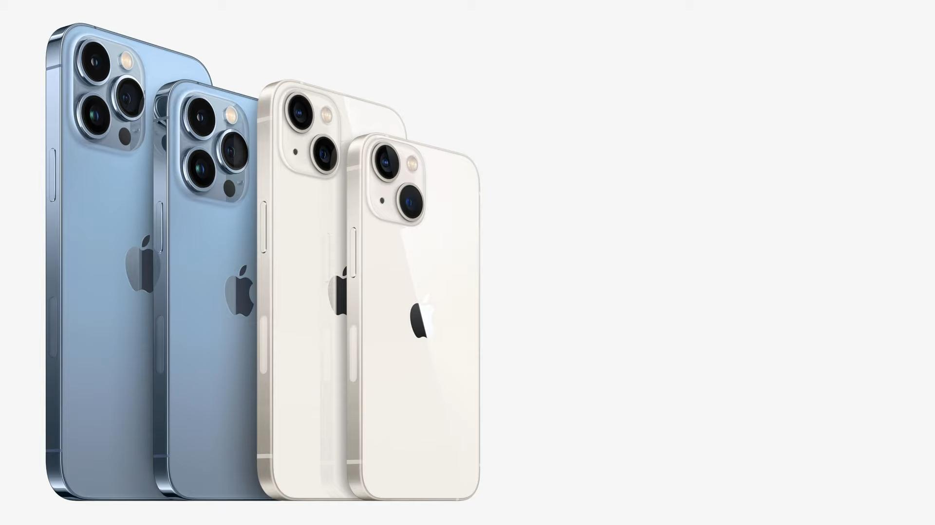 iPhone'y z serii 13 posiadają większe baterie od iPhone'ów z serii 12