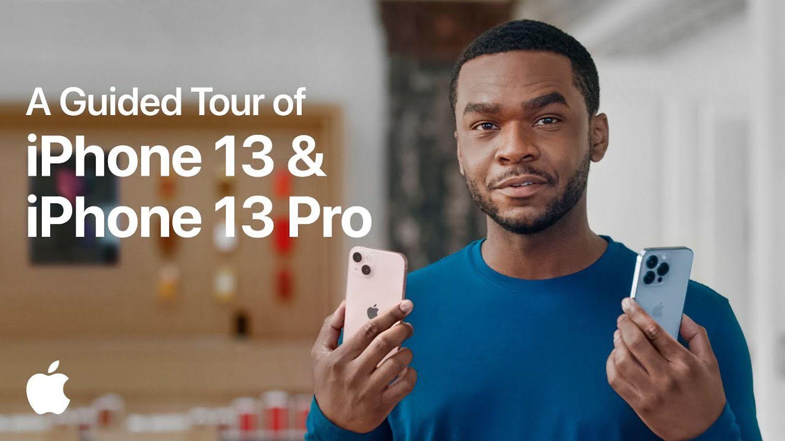 Przewodnik wideo od Apple przedstawiający różnice między iPhone 13 i iPhone 13 Pro
